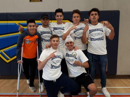 Dodgeball Intramural Champs 2019