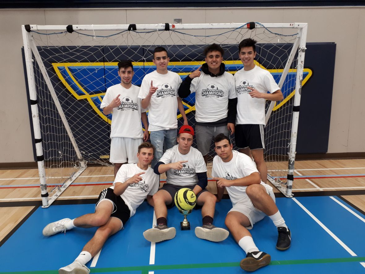 soccer intramurals champs 2019