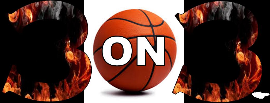 3on3 tournament banner logo
