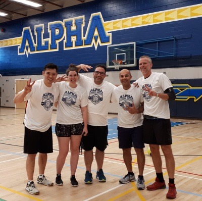 Volleyball Intramural (SR.division) Champs!